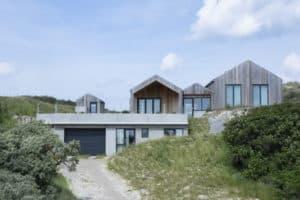 Sommerhus opført og designet af byggefirmaet keld og johs
