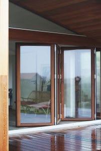 Vinduer og døre opført af Byggefirmaet Keld og Johs.