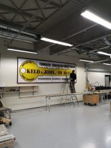 Byggefirmaet Keld og Johs´s værksted