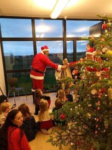 Juletræsfest hos Byggefirmaet Keld og Johs.