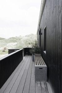 Arkitekttegnet sommerhus bygget af Keld og Johs.