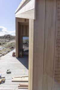 Byggefirmaet Keld og Johs- Tilbygning i cedertræ