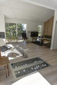 Sommerhus bygget og designet af byggefirmaet keld og johs